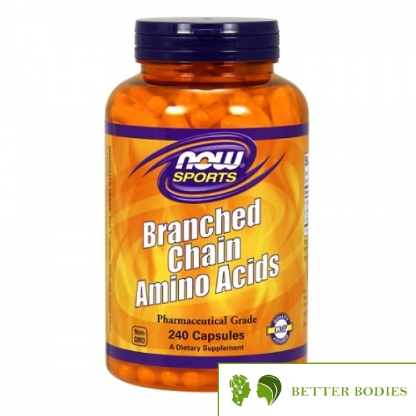 Now Foods - Branched Chain Amino Acids, 240 капсули