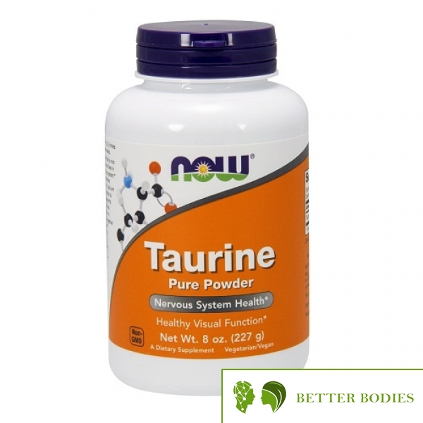 Now Foods - Taurine Powder, 227 грама