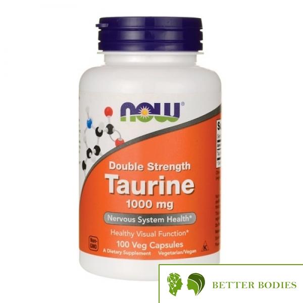Now Foods - Taurine 1000mg, 100 капсули