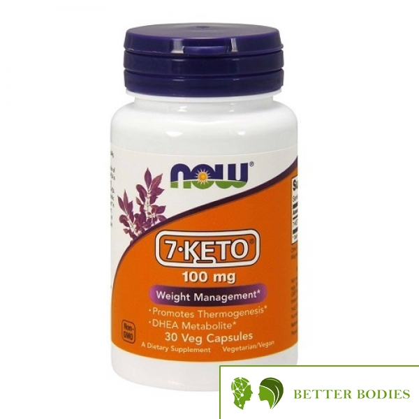 Now Foods - 7-Keto 100 mg, 30 капсули