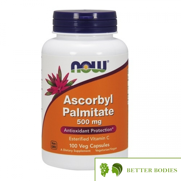 Now Foods - Ascorbyl Palmitate 500mg, 100 капсули