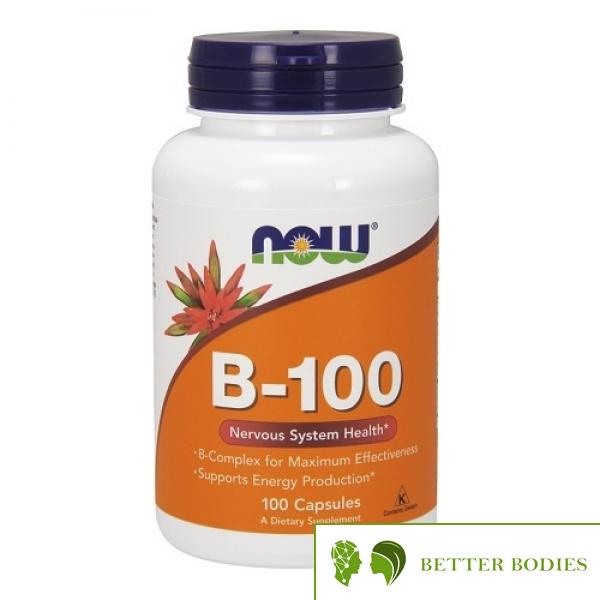 Now Foods - B-100, 100 капсули