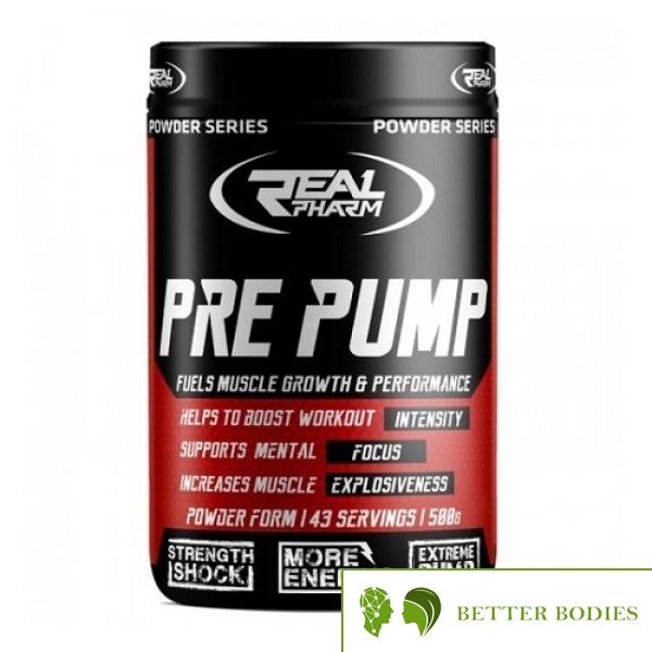 Real Pharm Pre Pump, 500 Grams