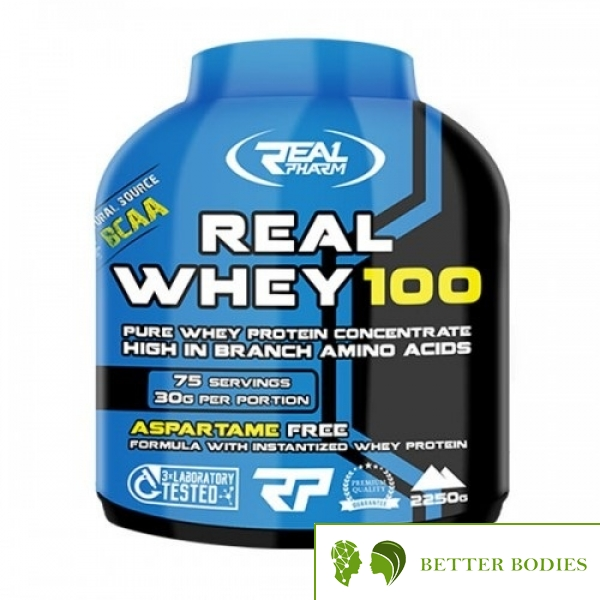 Real Pharm Complete Whey 100, 2250 Grams