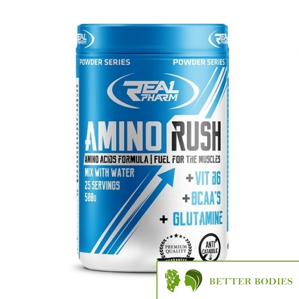 Real Pharm Amino Rush, 500 Grams