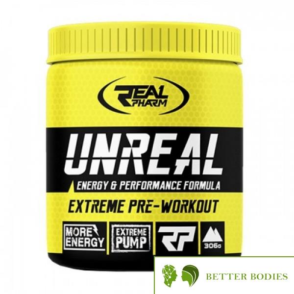 Real Pharm Unreal - предтренировъчна формула