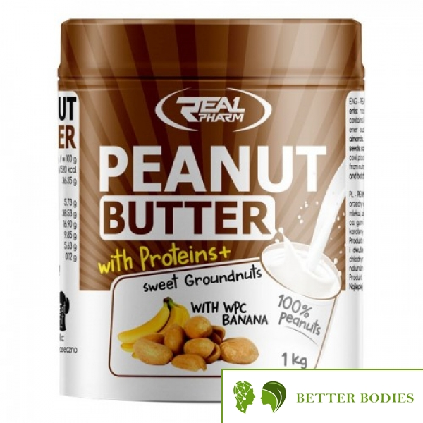 Real Pharm - Peanut Butter with Proteins