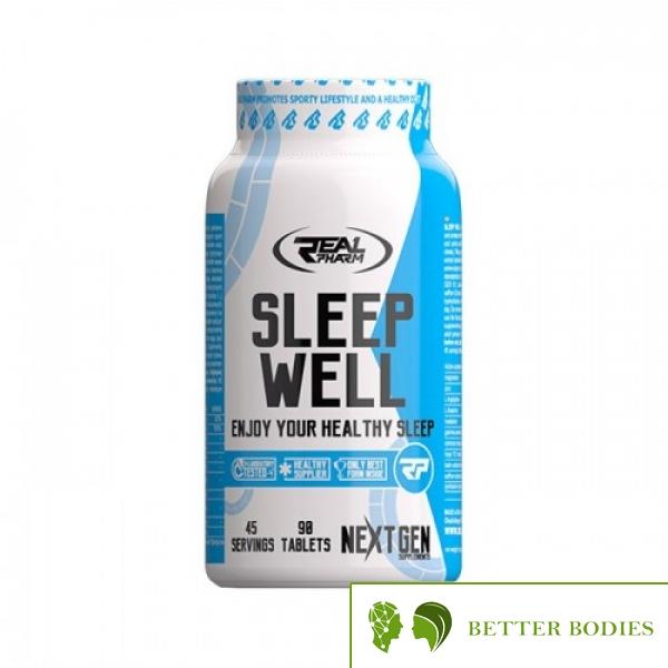 Real Pharm - SLEEP WELL - формула за оптимизиране на съня