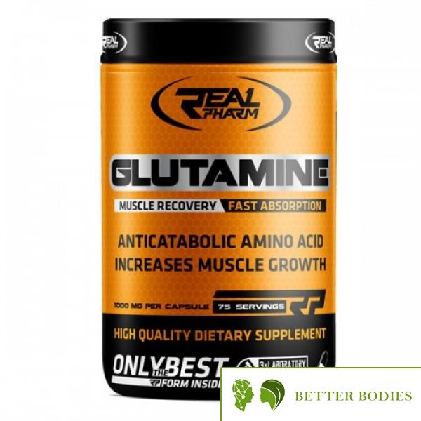 Glutamine, 300 капсули