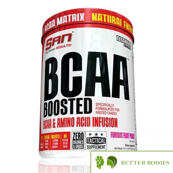 BCAA Boosted, 417 грама