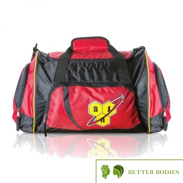 Kit Bag Black/Red One Size