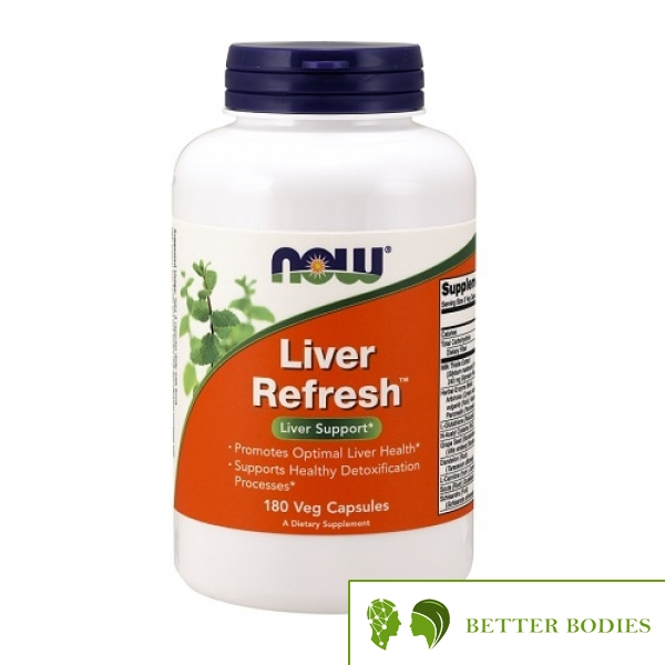 Now Foods - Liver Refresh, 180 капсули