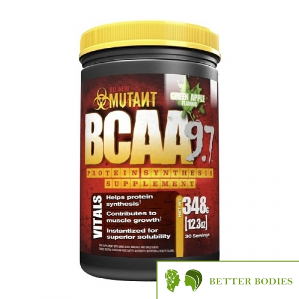 Mutant BCAA 9.7, 348 грама
