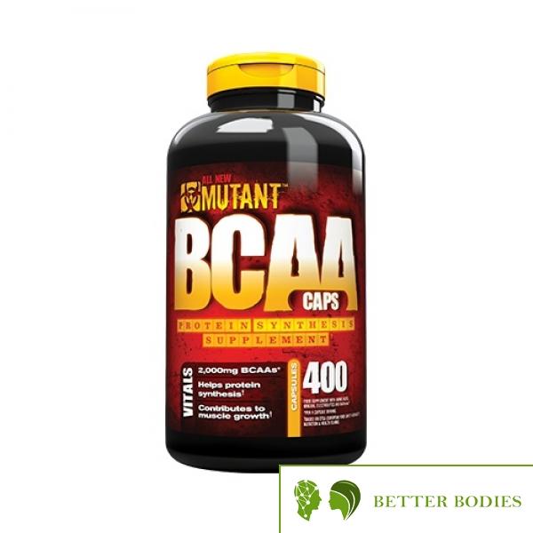 Mutant BCAA Caps, 400 капсули