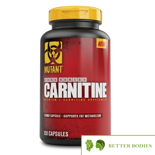 Mutant Core Series L-Carnitine, 120 капсули