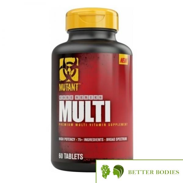 Mutant Core Series MultiVitamin, 60 таблетки