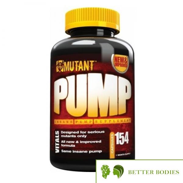 Mutant Pump, 154  капсули