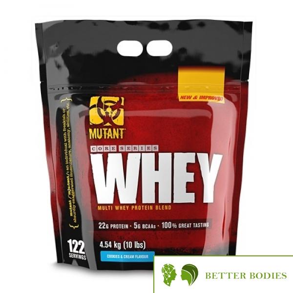 Mutant Whey, 4540 грама