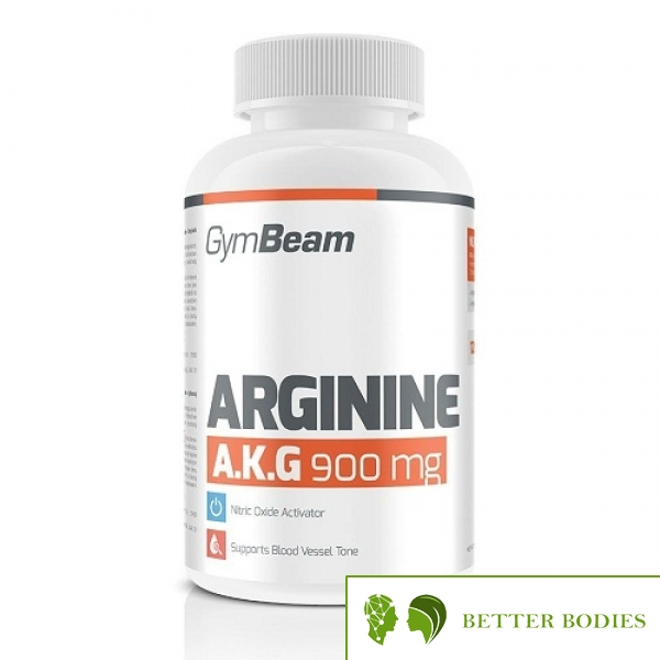 Gym Beam Arginine A.K.G, 120 капсули