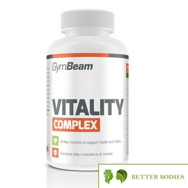 Gym Beam Multivitamín Vitality Complex, 60 таблетки