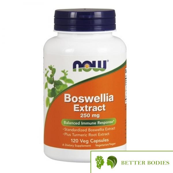 NOW Boswellia Extract  250mg, 120 капсули
