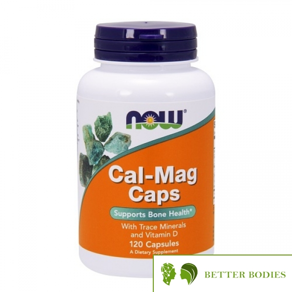 NOW Cal-Mag Caps, 120 капсули