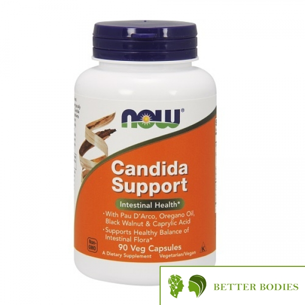 NOW Candida Support, 90 капсули