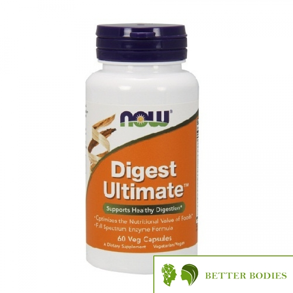 NOW Digest Ultimate, 60 капсули