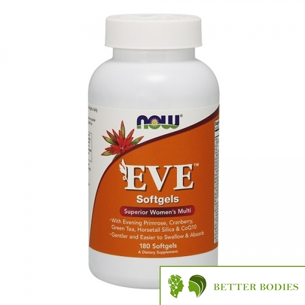 NOW Eve Women`s Multiple, 180 гел капсули