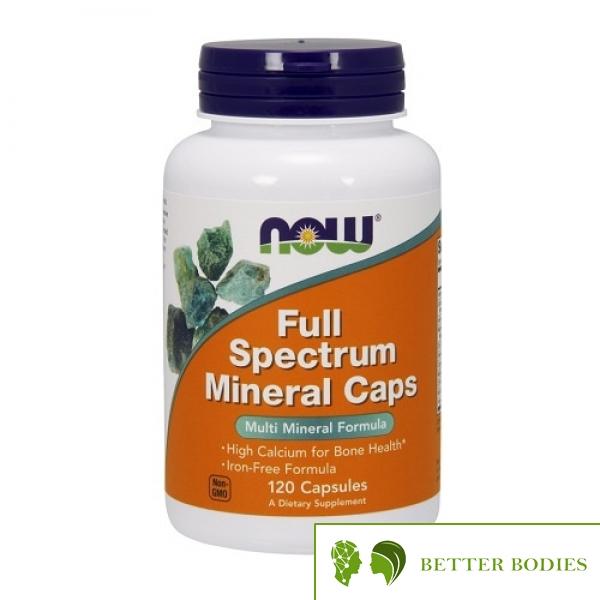 NOW Full Spectrum Mineral Caps, 120 капсули