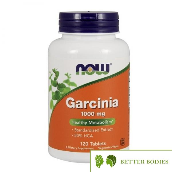 NOW Garcinia 1000mg, 120 таблетки