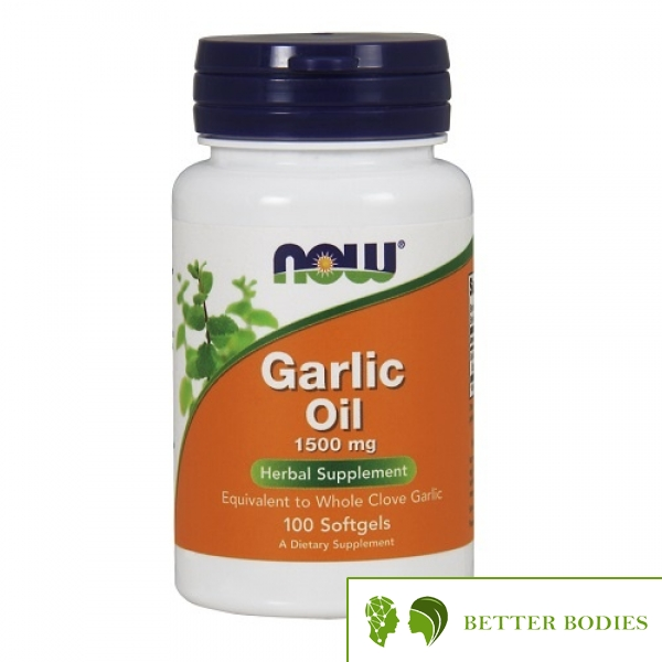 NOW Garlic Oil 1500mg, 100 гел капсули