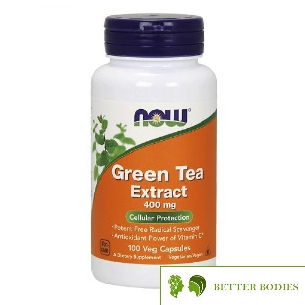 NOW Green Tea Extract 400mg, 100 капсули