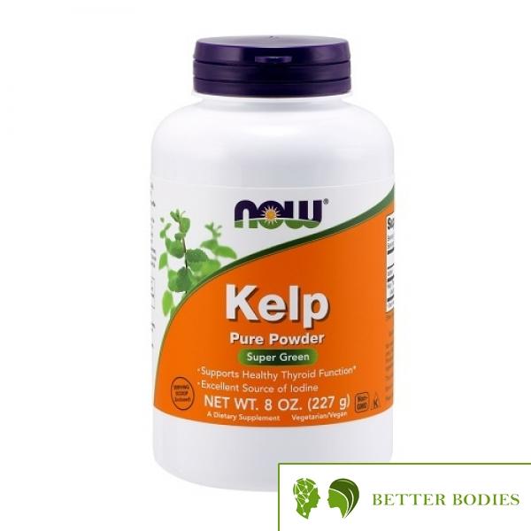 NOW Kelp 100% Pure Powder, 227 грама