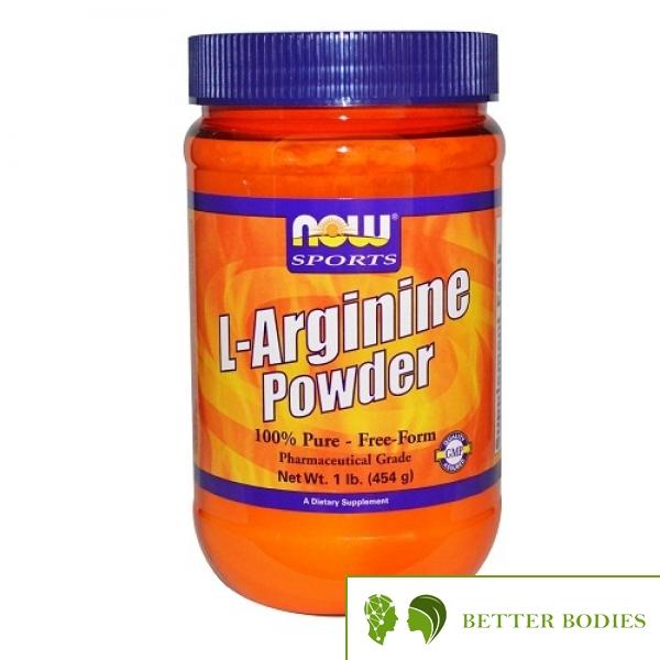 NOW l-Arginine Powder, 454 грама
