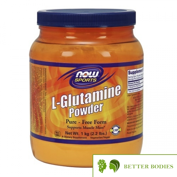 NOW L-Glutamine Powder, 1000 грама