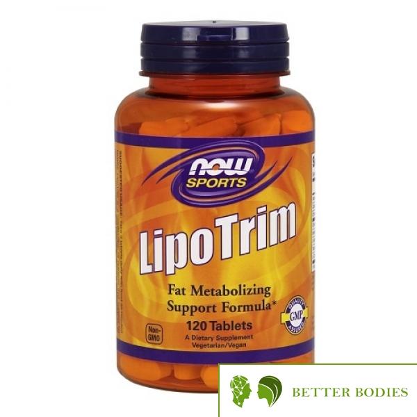 NOW LipoTrim, 120 таблетки