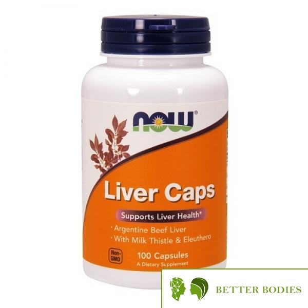 NOW Liver Caps, 100 капсули