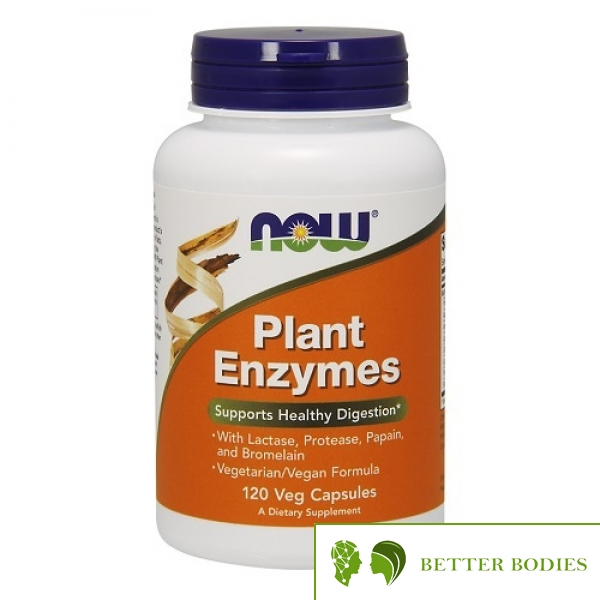 NOW Plant Enzymes, 120 капсули