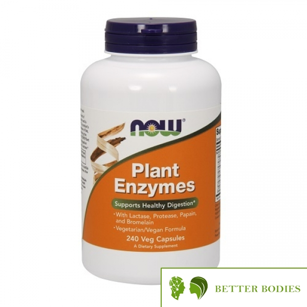 NOW Plant Enzymes, 240 капсули