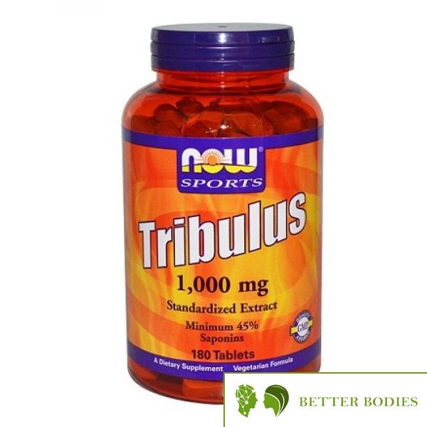 NOW Tribulus 1000, 180 таблетки