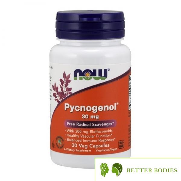 NOW Pycnogenol 30mg, 30 капсули