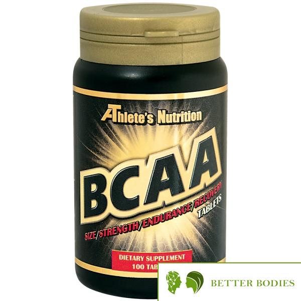 Athlete`s Nutrition BCAA 1000 mg, 100 таблетки