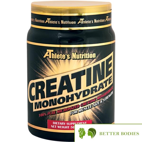 Athlete`s Nutrition Creatine Monohydrate Micronized, 500 грама