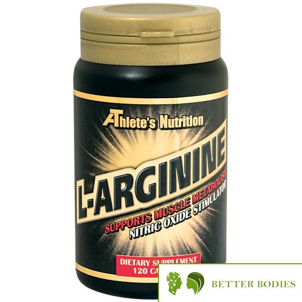 Athlete`s Nutrition L-Arginine, 120 капсули
