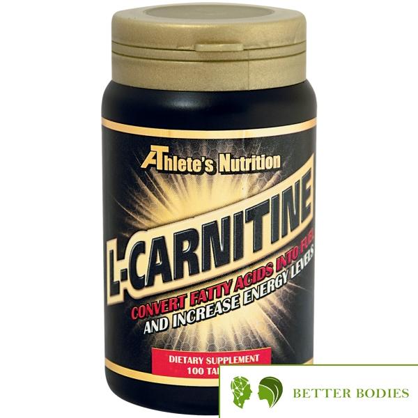 Athlete`s Nutrition L-Carnitine 1000 mg 100 таблетки