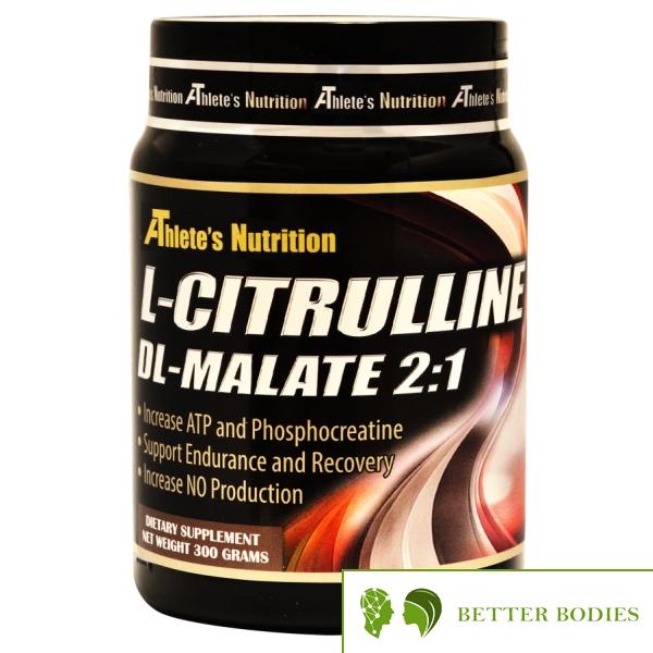 Athlete`s Nutrition L-citrulline dl-malate 2:1, 300 грама