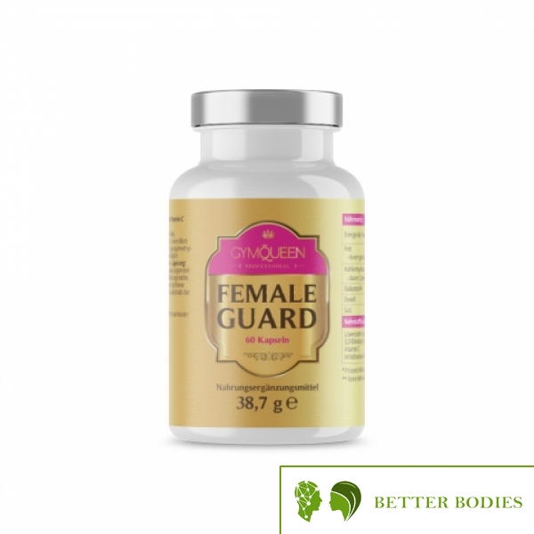 GYMQUEEN PROFESSIONAL FEMALE GUARD, 60 капсули