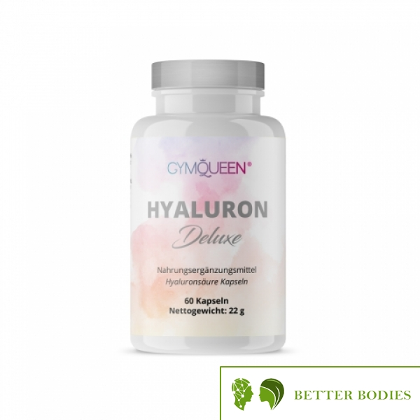 GYMQUEEN HYALURON DELUXE, 60 капсули