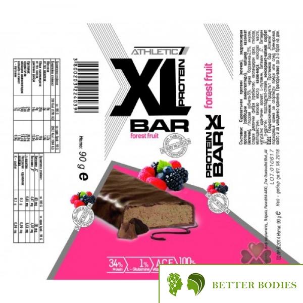 XL PROTEIN BAR, 90 грама